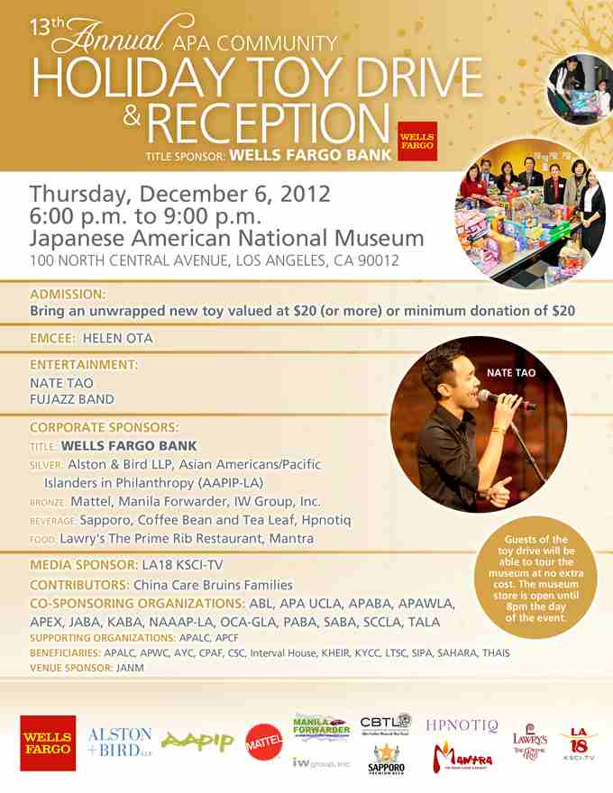 2012 APA Community Toy Drive